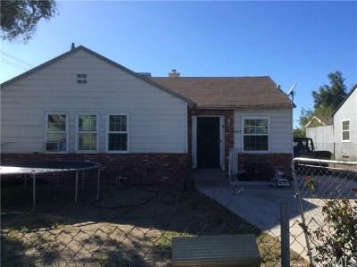 Fontana Single Family Home For Sale: 8896 Nuevo Avenue