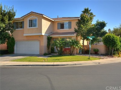 Rancho Cucamonga Single Family Home For Sale: 11841 Manhattan Court