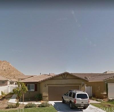 Perris Single Family Home For Sale: 3063 Jacinta Drive