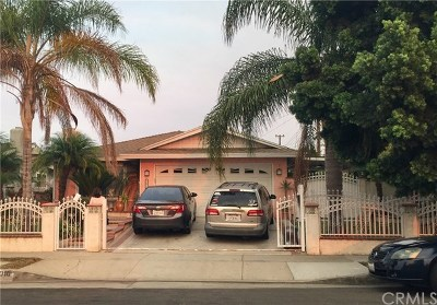 Carson Single Family Home For Sale: 21010 Bolsa Street