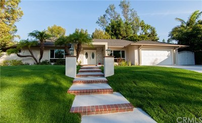 Fullerton Single Family Home For Sale: 681 Green Acre Drive