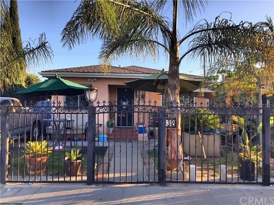 Compton Single Family Home For Sale: 532 W Cressey Street
