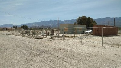 Lucerne Valley Single Family Home Active Under Contract: 30815 State Highway 18