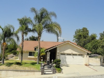 San Dimas Single Family Home For Sale: 1564 Avenida Entrada