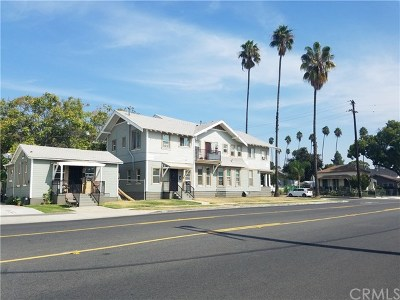 Pomona Multi Family Home For Sale: 309 N Gordon Street