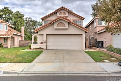 Chino Hills Single Family Home Active Under Contract: 15511 Oak Springs Road