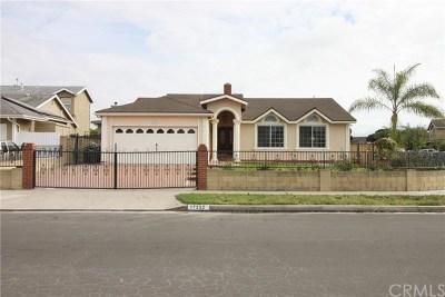 Huntington Beach Single Family Home For Sale: 17252 Apel Lane