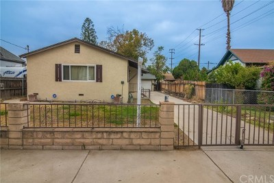 Redlands Single Family Home For Sale: 831 Washington Street