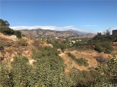 Glendora Residential Lots & Land For Sale: South Hills Area