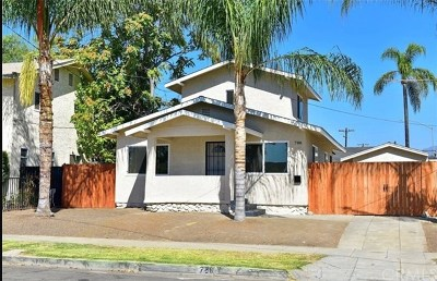 Pomona Single Family Home For Sale: 786 Washington Avenue