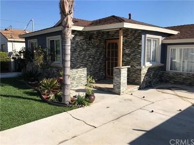 Torrance Single Family Home For Sale: 22206 Meyler St
