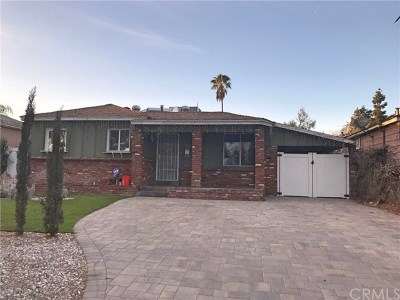 Sun Valley Single Family Home For Sale: 11847 Rialto Street