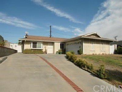 West Covina Single Family Home For Sale: 3426 S Hedgerow Drive