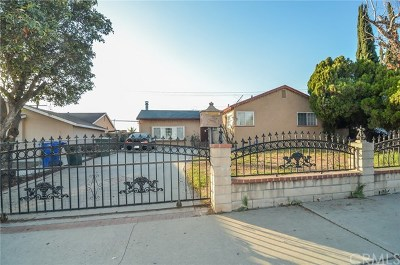 Pomona Single Family Home For Sale: 2939 Abbott Street