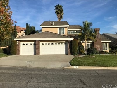 Glendora Single Family Home Active Under Contract: 140 Morgan Ranch Road