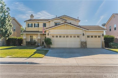 Eastvale Single Family Home For Sale: 6301 Cattleman Drive