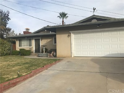 Yucaipa Single Family Home For Sale: 12605 7th Street