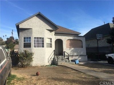 Los Angeles Single Family Home For Sale: 2316 Alta Street