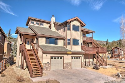 Big Bear Single Family Home For Sale: 42488 Bear Loop