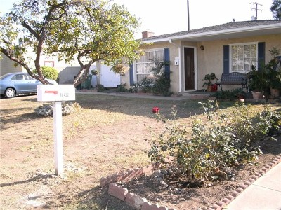 Covina Single Family Home For Sale: 18422 E Benbow Street