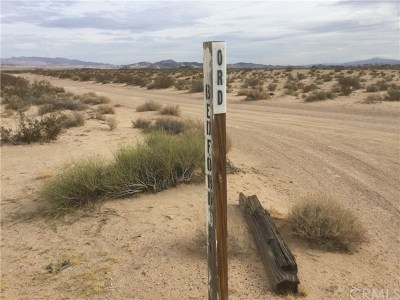 Newberry Springs Residential Lots & Land For Sale: Bedford Drive.