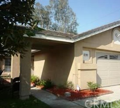 Fontana Single Family Home Active Under Contract: 13461 Betsy Ross Court