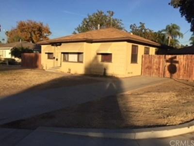 Riverside CA Single Family Home For Sale: $315,000