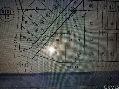 Barstow Residential Lots & Land For Sale: St. Hwy Add To Barstow
