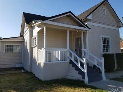 Pomona Single Family Home For Sale: 1001 W 3rd Street