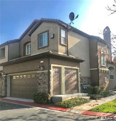 Rancho Cucamonga Condo/Townhouse For Sale: 8692 9th Street #52