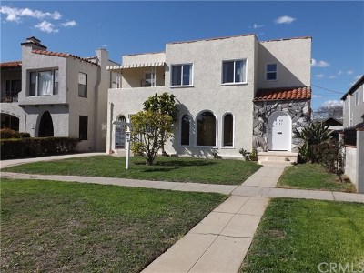 Los Angeles Multi Family Home For Sale: 1429 Hauser Boulevard
