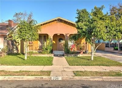 Anaheim Multi Family Home For Sale: 726 N Philadelphia Street