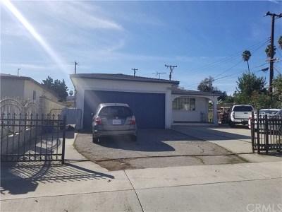 La Puente Single Family Home For Sale: 14832 Clark Avenue