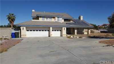 Apple Valley Single Family Home For Sale: 19330 Seneca Road