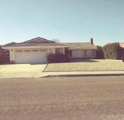 Victorville Single Family Home For Sale: 15426 Chaparral Street