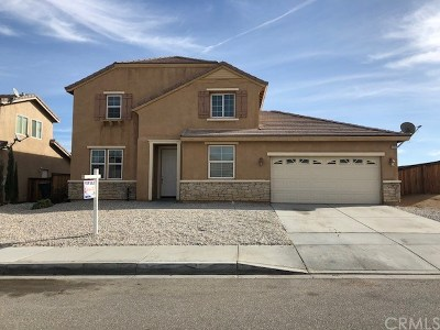 Victorville Single Family Home For Sale: 13767 Mesa View Drive