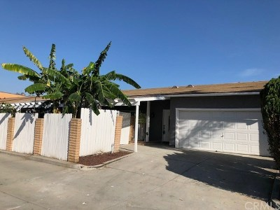 Rowland Heights Single Family Home For Sale: 18437 Santar Street