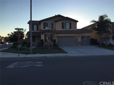 Corona Single Family Home For Sale: 7234 Morning Hills Drive