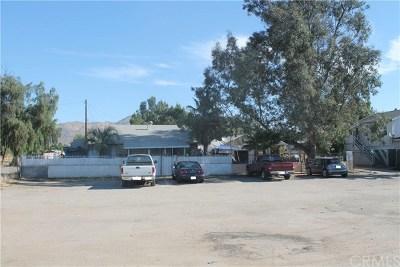 Moreno Valley Single Family Home Active Under Contract: 21932 Alessandro Boulevard