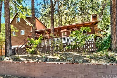 Arrowbear, Big Bear, Blue Jay, Cedar Glen, Cedarpines Park, Crestline, Lake Arrowhead, Running Springs Area, Rimforest, Twin Peaks, Wrightwood Single Family Home For Sale: 667 Oriole Road