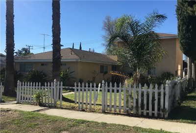 Upland Single Family Home Active Under Contract: 1377 N 5th Street