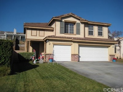Yucaipa Single Family Home Active Under Contract: 34378 Sherwood Drive