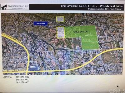 Riverside Residential Lots & Land For Sale: Iris