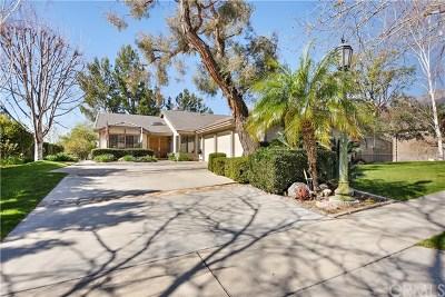 Rancho Cucamonga Single Family Home For Sale: 12769 E Rancho Estates