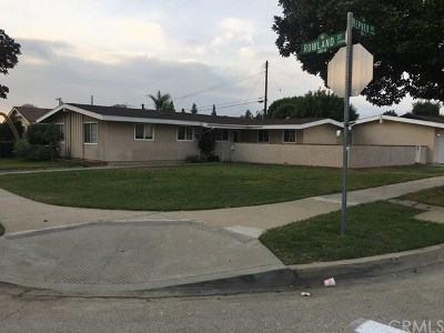 Covina Single Family Home For Sale: 425 W Rowland Street