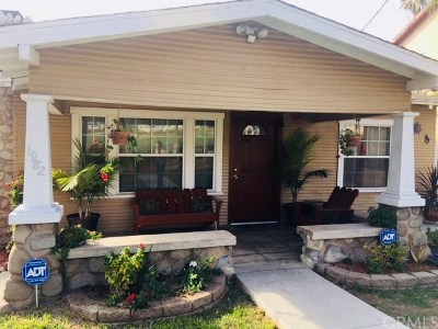 Highland Single Family Home For Sale: 1982 Palm