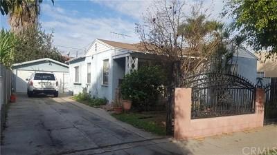 Long Beach Single Family Home For Sale: 2145 Earl Avenue