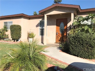 Covina Single Family Home For Sale: 4728 N Fircroft Avenue