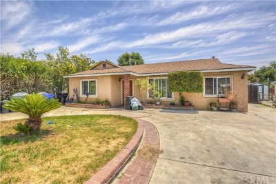 Fontana Single Family Home Active Under Contract: 8649 Locust Avenue