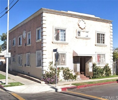 Los Angeles Multi Family Home For Sale: 901 E 33rd Street